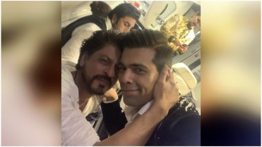 Shah Rukh Khan and Karan Johar's Latest Picture at 64th Filmfare Awards 2019 Says All Is Well With Their Friendship – View Pic
